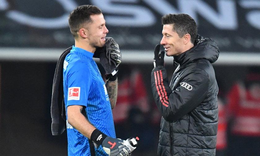 Rafał Gikiewicz i Robert Lewandowski grali kiedyś przeciwko sobie w III lidze. Dziś rywalizują w Bundeslidze