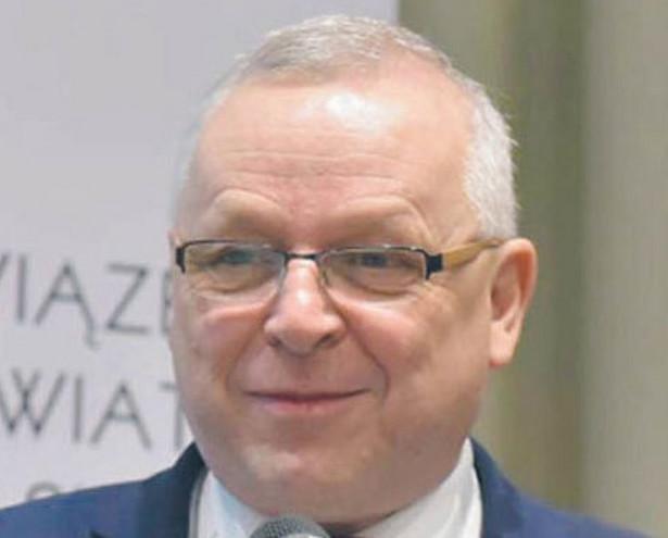 Andrzej Płonka prezes Związku Powiatów Polskich, starosta bielski