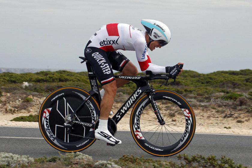 Polski mistrz świata w kolarstwie Michał Kwiatkowski spalił 25 tys kcal