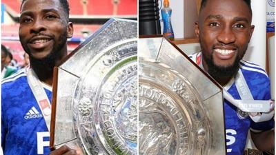 Wilfred Ndidi and Kelechi Iheanacho kick off the season on a high with Community Shield win with Leicester City