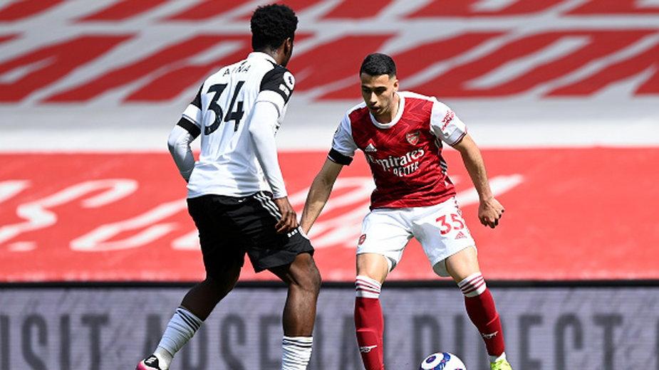 Gabriel Martinelli w meczu Arsenalu z Fulham