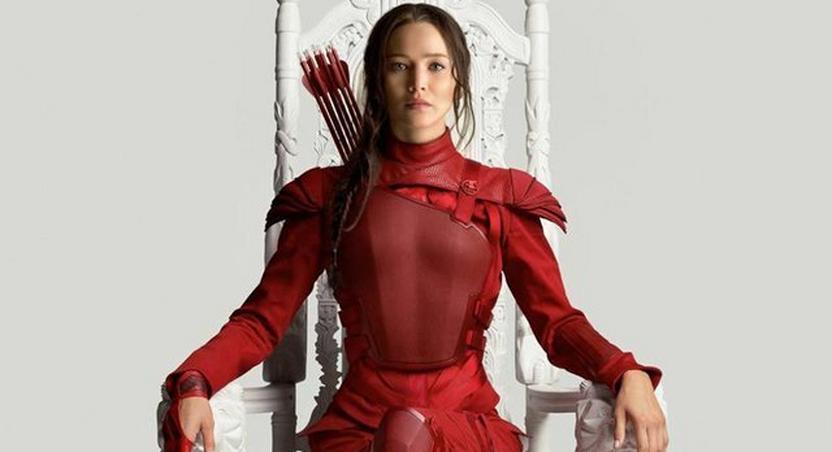 Jennifer Lawrence as Katniss Everdeen in 'The Hunger Games: Mockingjay – Part 2.'