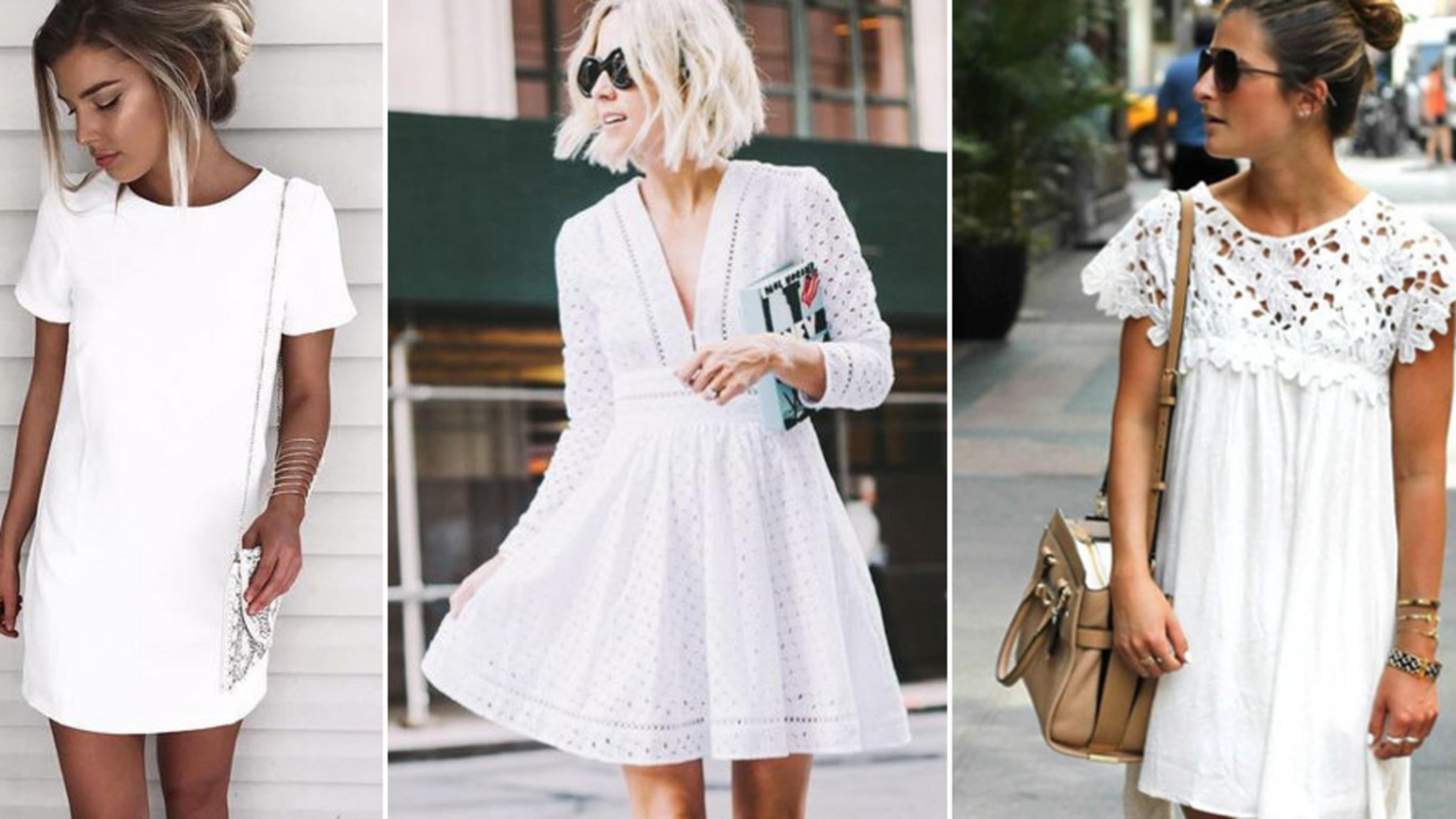 3 częste błędy przy noszeniu białej sukienki (+udane