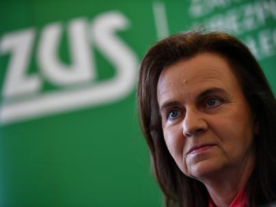 prof. Gertruda Uścińska jest prezesem ZUS od 11 lutego 2016 r.