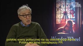 Woody Allen: Polska ma teraz nienajlepszy PR