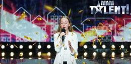"""Śpiew 15-latki w """"Mam Talent"""" wywołał ciarki. Jurorzy oniemieli"""