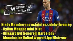 Internauci oszaleli po meczu Barcy, Javier Mascherano i Andre Gomes bohaterami memów