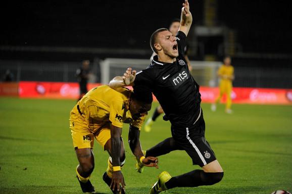 FK Partizan, Strahinja Pavlović, FK Malatja