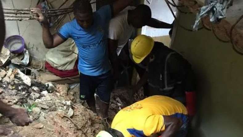 Another building collapse in Lagos claims the lives of two children (NAN)