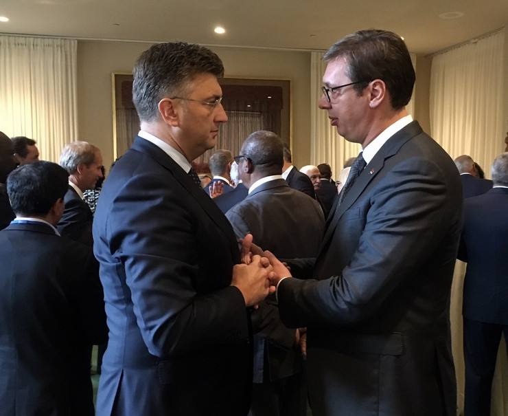 Vučić u UN3 Plenković