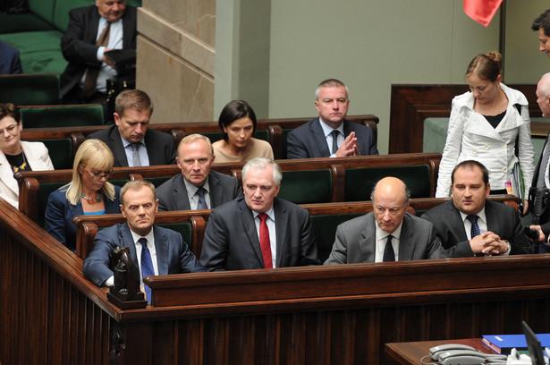 Ministrowie w rządzie Donalda Tuska