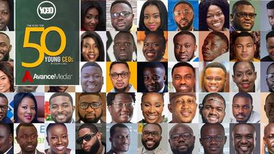 Here is a list of the top 50 young CEOs in Ghana, according to Avance Media