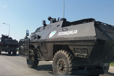Policija MUP RS oklopno vozilo