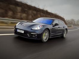 Porsche Panamera 4S e-hybrid Sport Turismo - hybryda bez wyrzeczeń