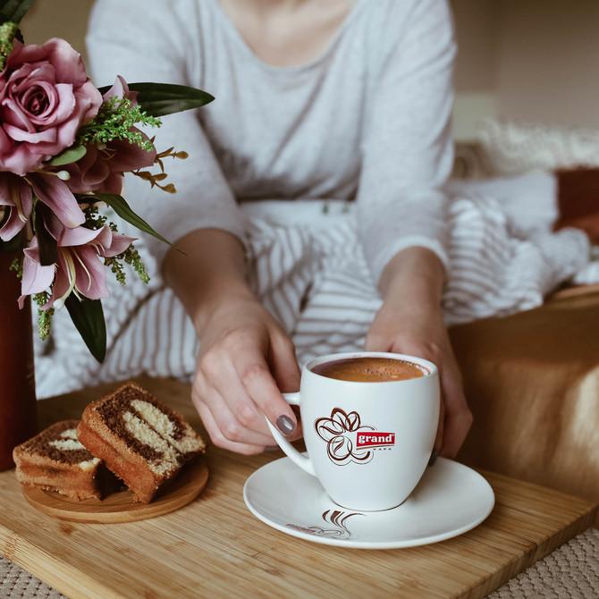 Kafa brojnim poslasticama daje divnu aromu i fin ukus