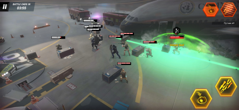 Tom Clancy's Elite Squad - screenshot z gry (wersja na Androida)
