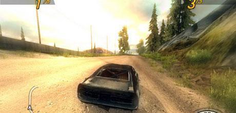 """Screen z gry """"FlatOut 2"""""""