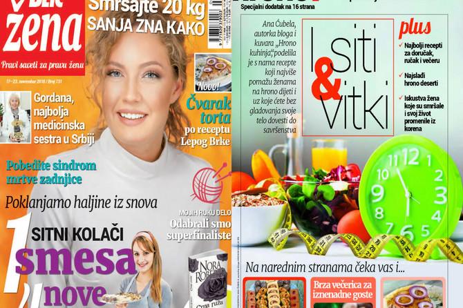 "Samo u novoj ""Blic ženi"" za Aranđelovdan: Jedna smesa za četiri nove vrste kolača"