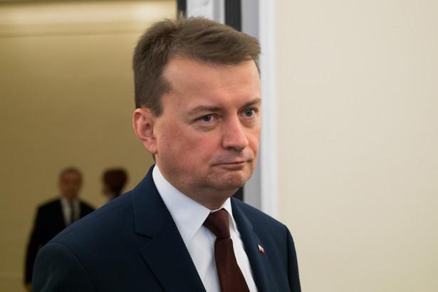 """W odpowiedzi na pytania DGP biuro prasowe MSWiA informuje jedynie, że """"minister Mariusz Błaszczak podczas ostatniej konferencji prasowej powiedział, że przygotowywana jest nowa ustawa o BOR"""""""