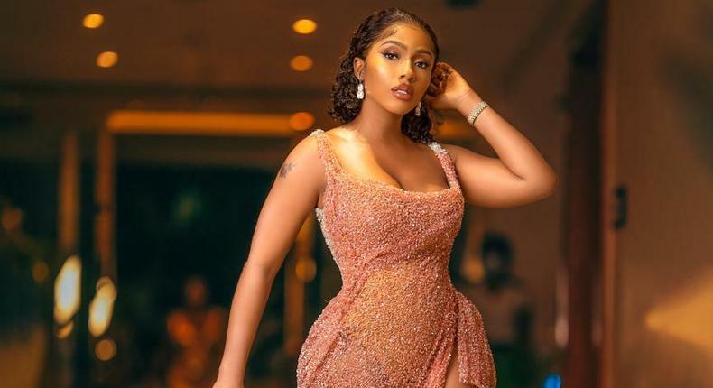 Reality TV star Mercy Eke  [MercyEke]