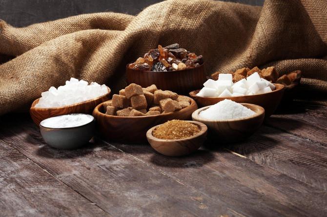 Šećer se pojavljuje u mnogo oblika