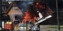 Samolot spadł na dom, nie żyje 6 osób. Przerażające zdjęcia