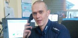 Policjant uratował niemowlę. Jak to zrobił?
