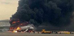 Nowe nagranie z katastrofy w Moskwie. To ona ostatnia wyszła z samolotu żywa