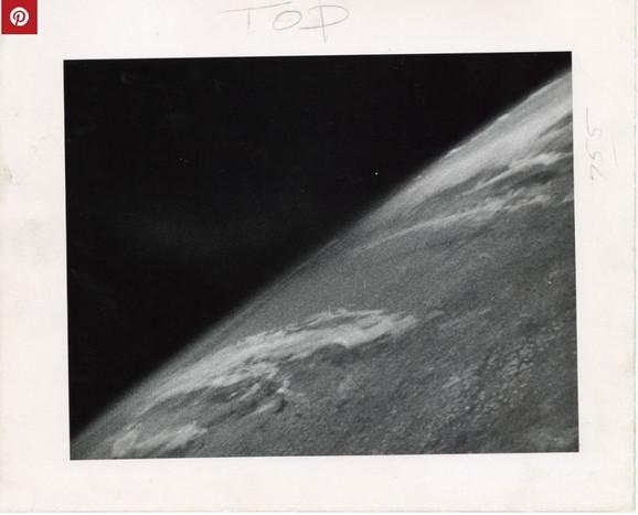 Prva fotografija iz svemira, 24. oktobar 1946. godine