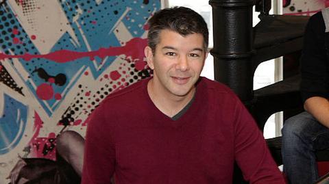 CEO Ubera Travis Kalanick
