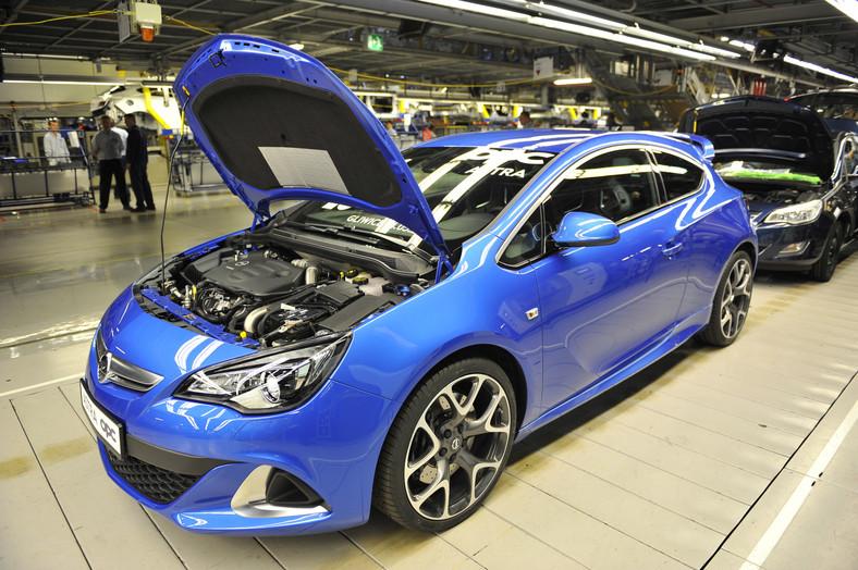 Opel astra OPC obecnej generacji