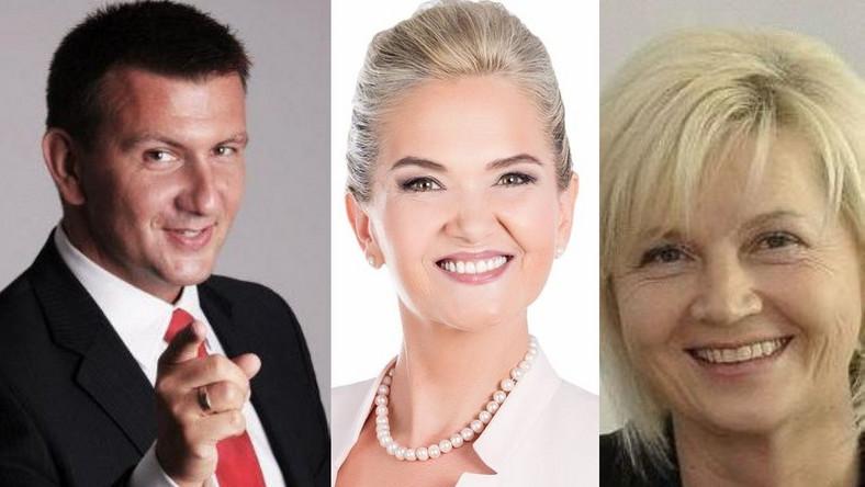Marcin Maranda,  Lidia Staroń i Anna Kalata