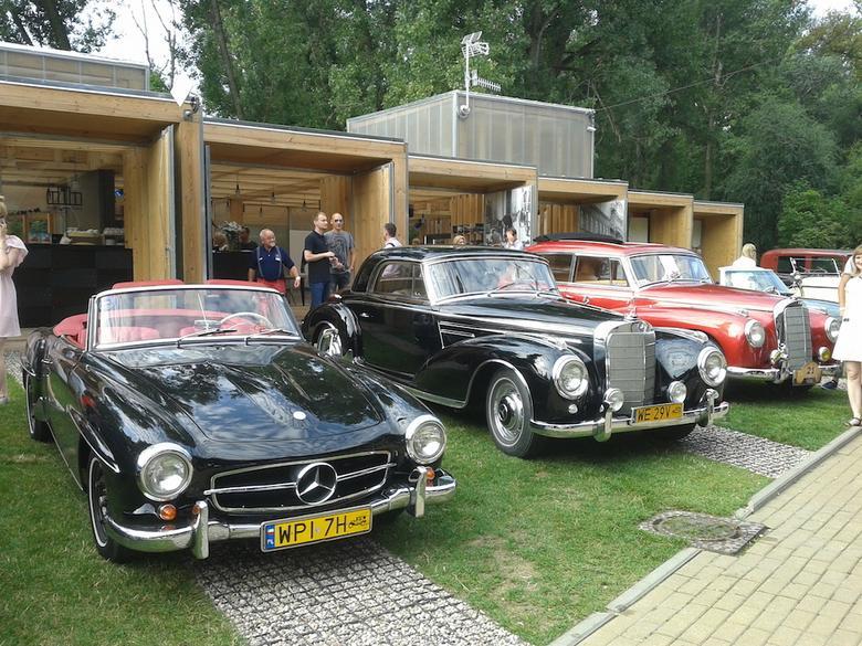 Mercedes 190 SL oraz 300 SC