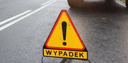 Wypadek autobusu i tira na obwodnicy Ozorkowa. Ranni