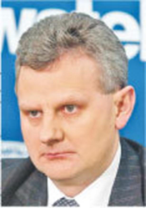 Aleksander Grad, minister Skarbu Państwa Fot. Artur Chmielewski
