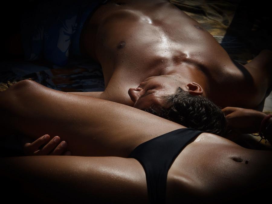 Czarny połknąć Sex oralny