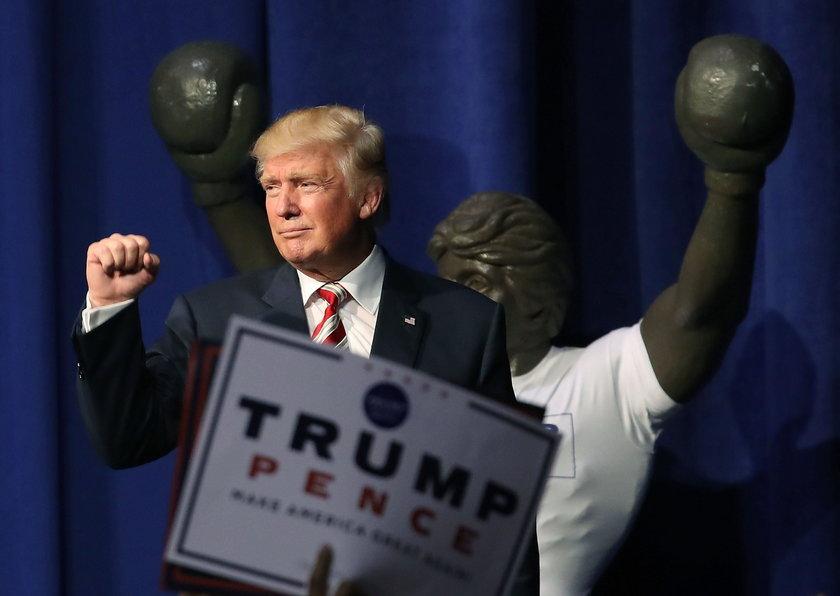 Pierwsza debata prezydencka z udziałem Hillary Clinton i Donalda Trumpa