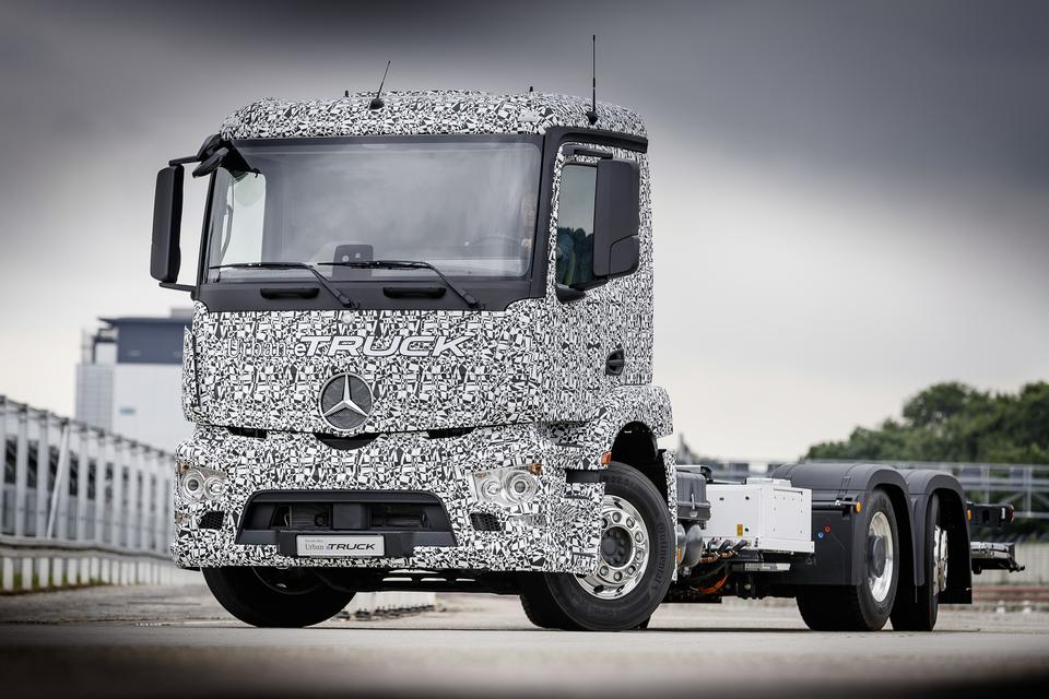 Mercedes Urban eTruck