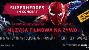 Muzyka filmowa ze Spider-Mana oraz Batmana na multimedialnych widowiskach w Polsce