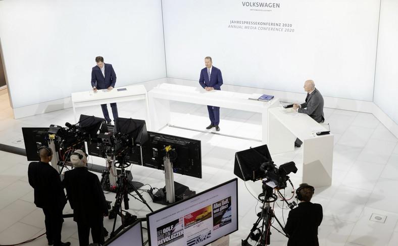 Internetowa konferencja Volkswagena