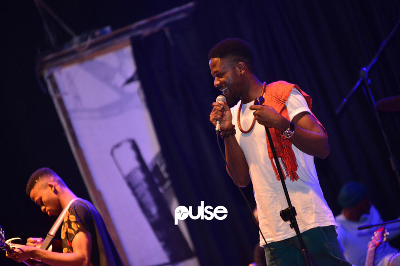 "Johnny Drille who was joined on stage by rising star, Cill, provided more lively performances at the 2017 edition of ""Live & Wavy""concert."