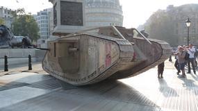 100 rocznica udziału czołgu w bitwie - wideorelacja z Londynu
