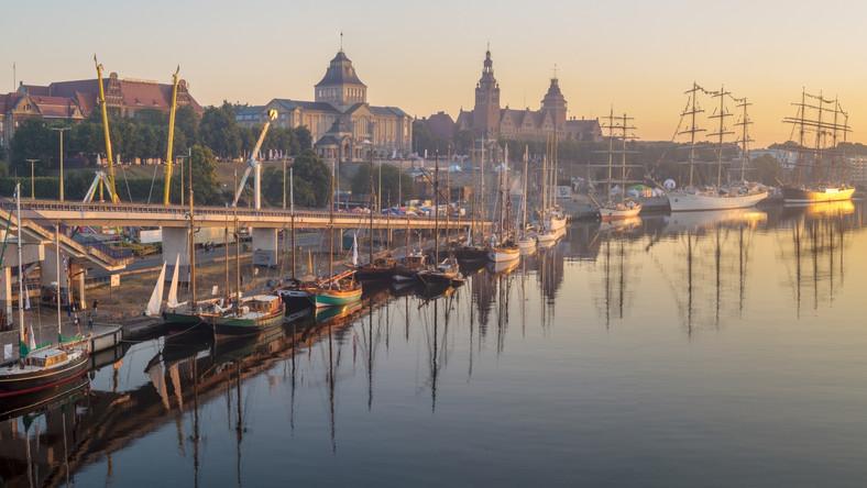 Szczecin już czeka na wielkie żaglowce. The Tall Ships Races rusza w piątek