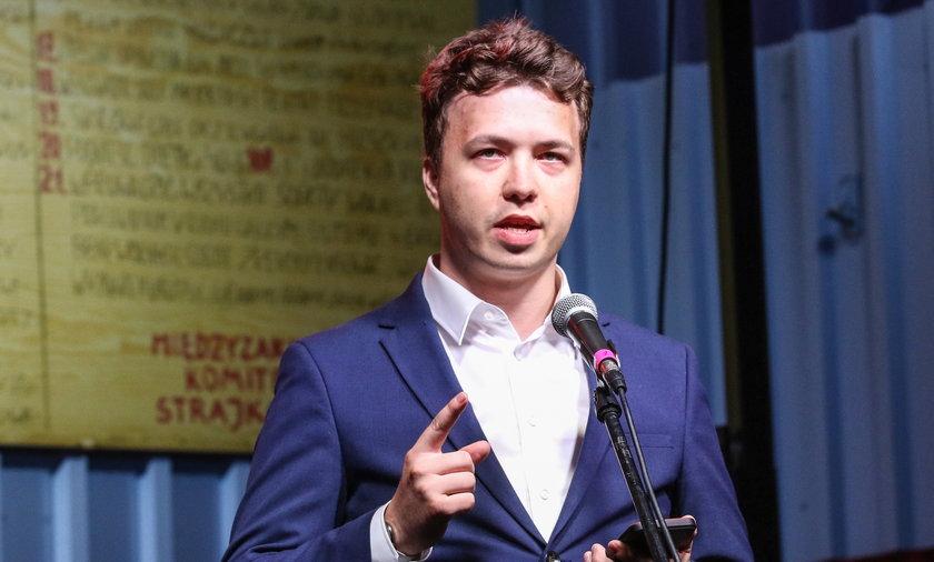 Roman Protasevich Detained Onboard Plane In Belarus