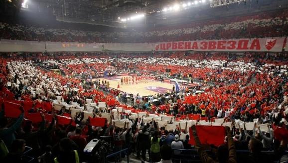 KK Crvena zvezda u Beogradskoj areni