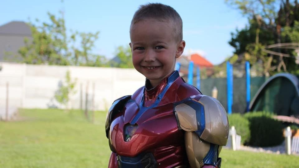 Mini Vasemberként nyűgözte le a Marvel-rajongókat egy felvidéki kisfiú