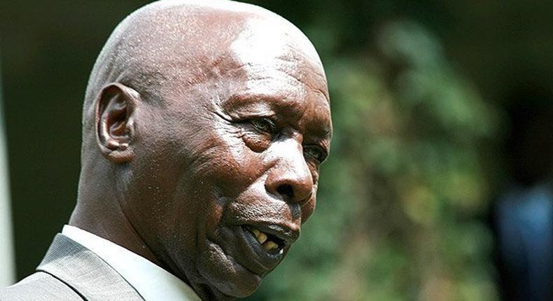 Retited President Moi