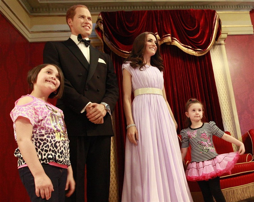 Kate i William z wosku