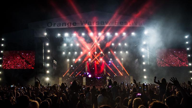 Skrillex na Orange Warsaw Festival 2016