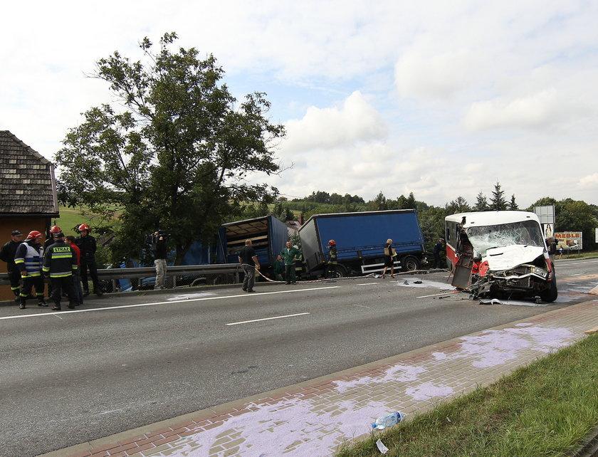 Do wypadku doszło we wtorek na drodze nr 94